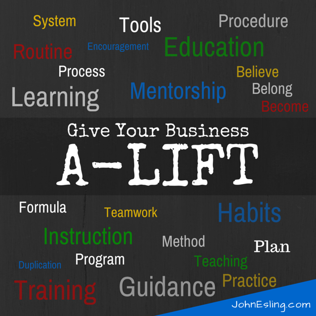 Give your business a lift